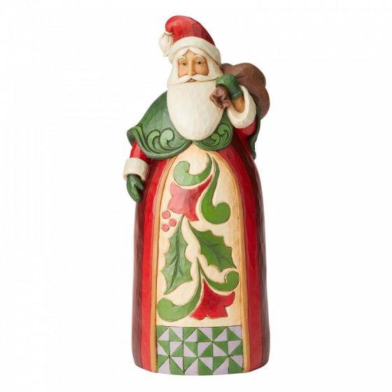 Santa with Bag Statue