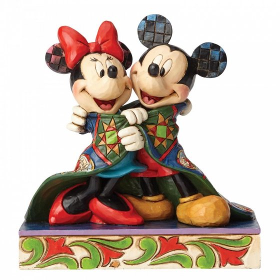 Warm Wishes (Mickey and Minnie Mouse Figurine)