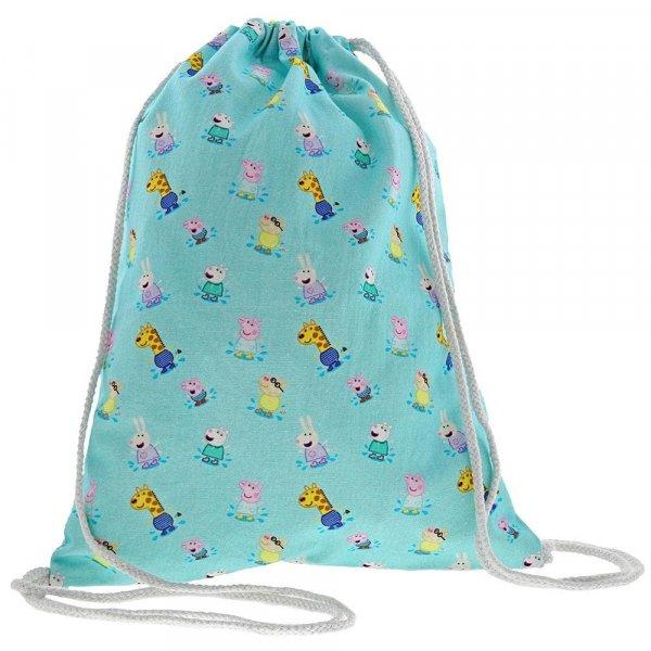 9286d19758d3 Peppa Pig Drawstring Bag : Enesco