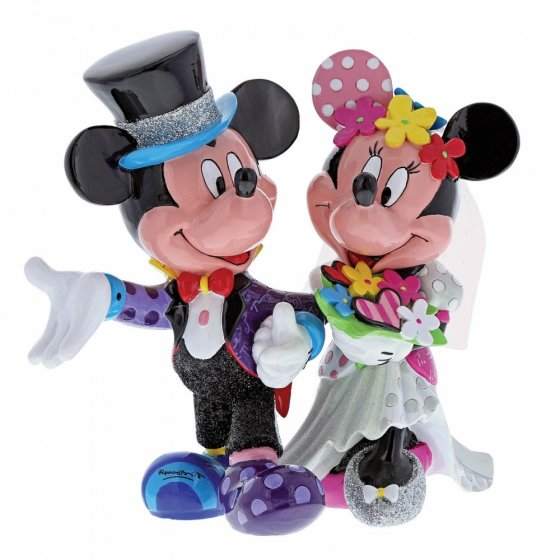 Mickey and Minnie Mouse Wedding Figurine