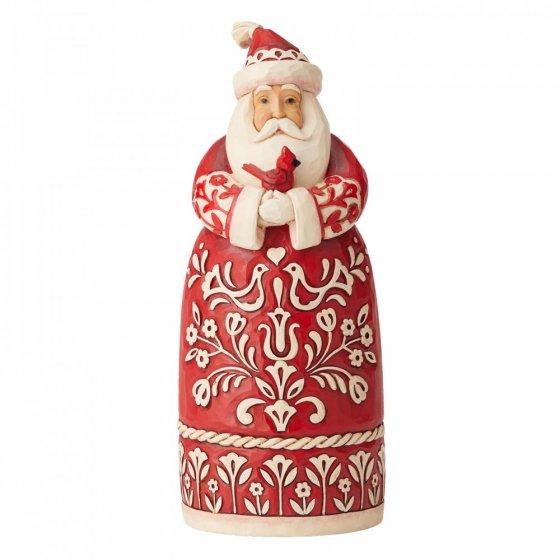 'Tis The Season To Sing (Nordic Noel Santa Figurine)