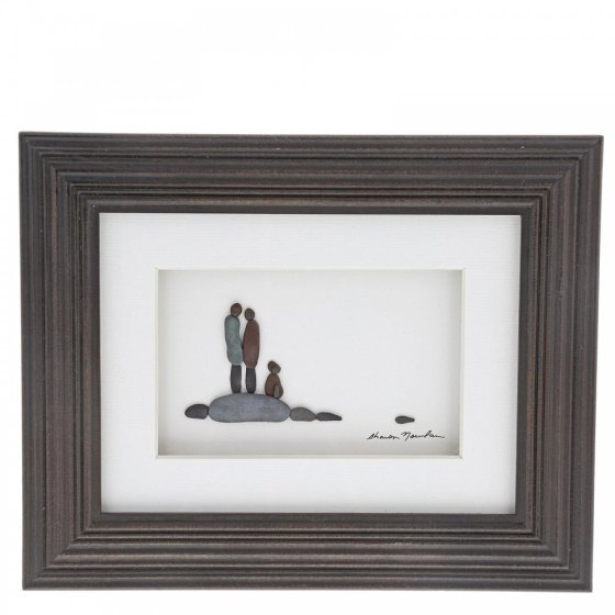 Loyal and True Framed Picture 20cm x 25cm
