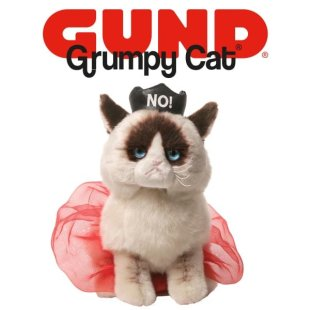 NEW Queen Grumpy Cat®…plus 'Shark' and 'Couture' Beanbags…from GUND®