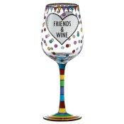 Wine & Friends Wine Glass