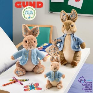 Peter Rabbit™ partners with Great Ormond Street Hospital (GOSH)