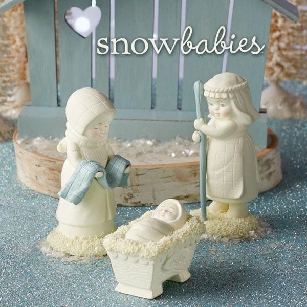 Enesco launches new Nativity scene from Snowbabies for the  Christmas season