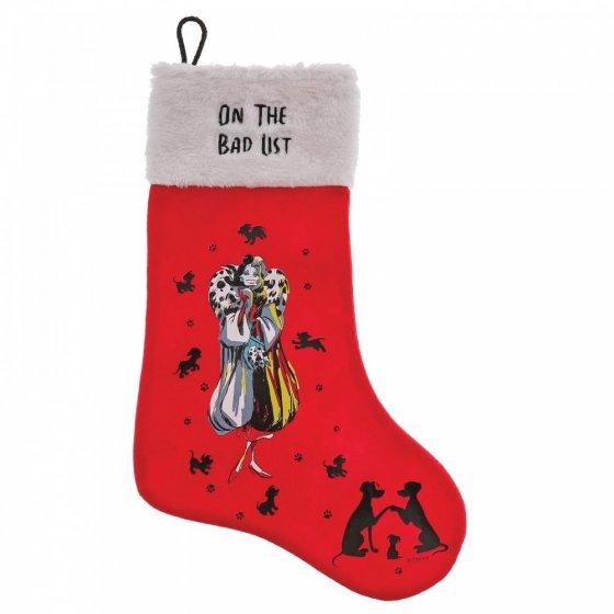 On The Bad List (Cruella De Vil Stocking)