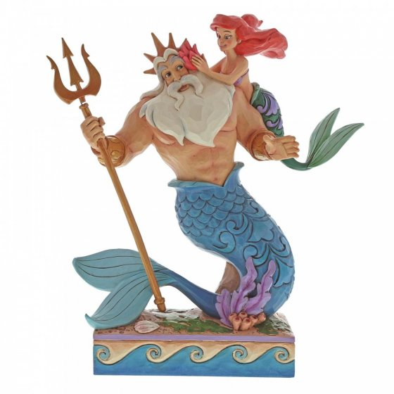 Daddy's Little Princess (Ariel and Triton Figurine)