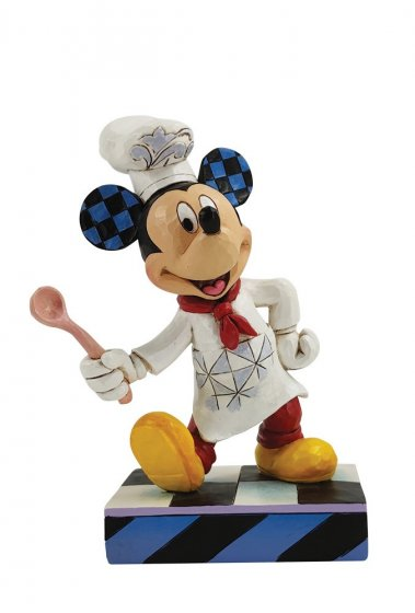 Chef Mickey Mouse Figurine
