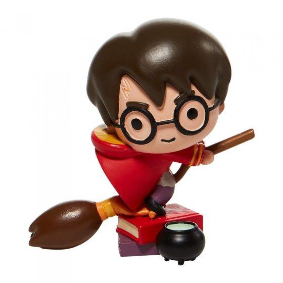 Harry on a Broom Charm Figurine