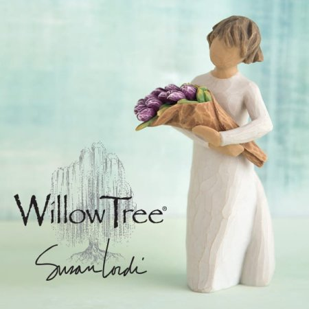Enesco launches a new figurine in the Willow Tree® collection to help give the gift of surprise