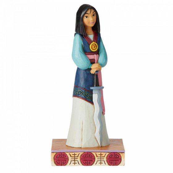 Winsome Warrior (Mulan Princess Passion Figurine)