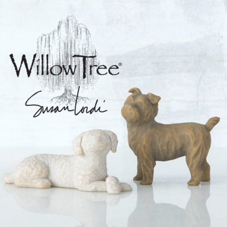 Enesco presents three new pet figurines in expanding Willow Tree® collection