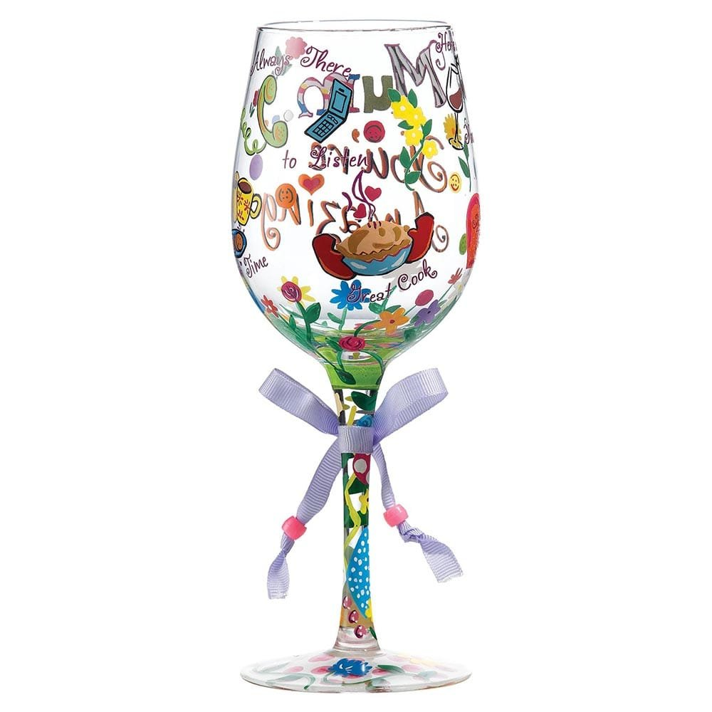 Mum You 39 Re Amazing Wine Glass Enesco
