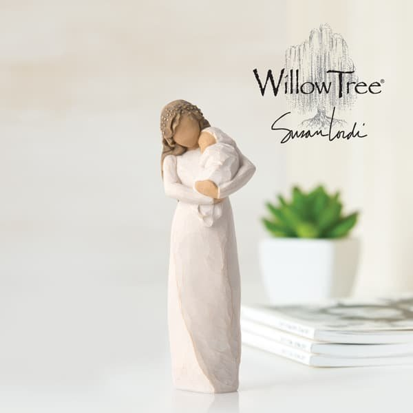 Enesco announces new Willow Tree figurine showing the bond between mother and newborn baby