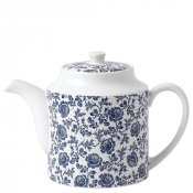 Parisienne Blue Teapot (White)