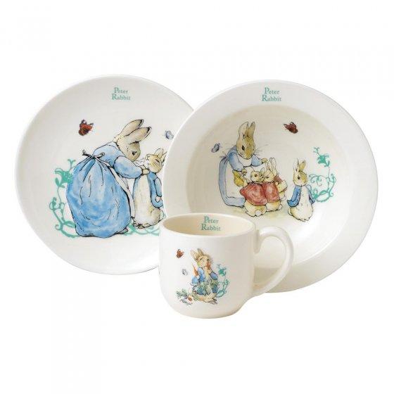 Peter Rabbit Three-Piece Nursery Set