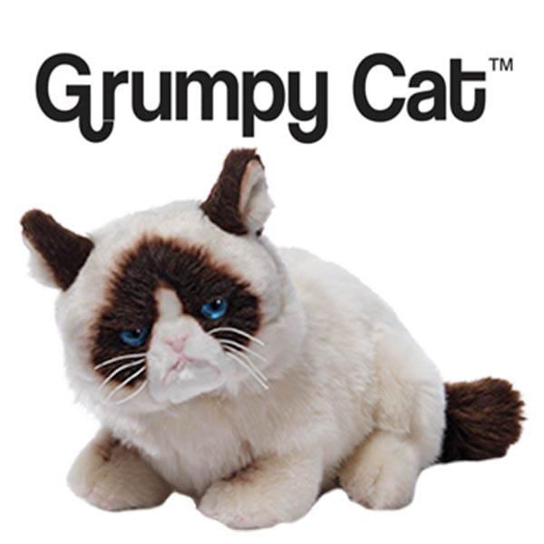 New Grumpy Cat designs for GUND® soft toys