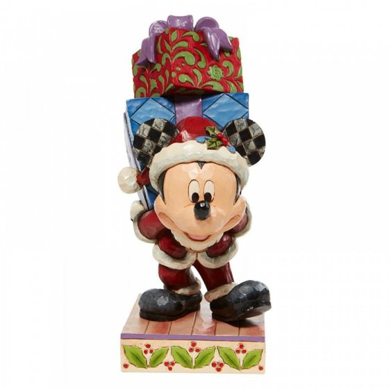 Mickey Carrying Gifts Figurine