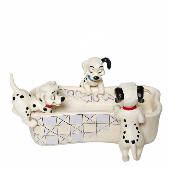Puppy Bowl - 101 Dalmatians Bone Shaped Dish