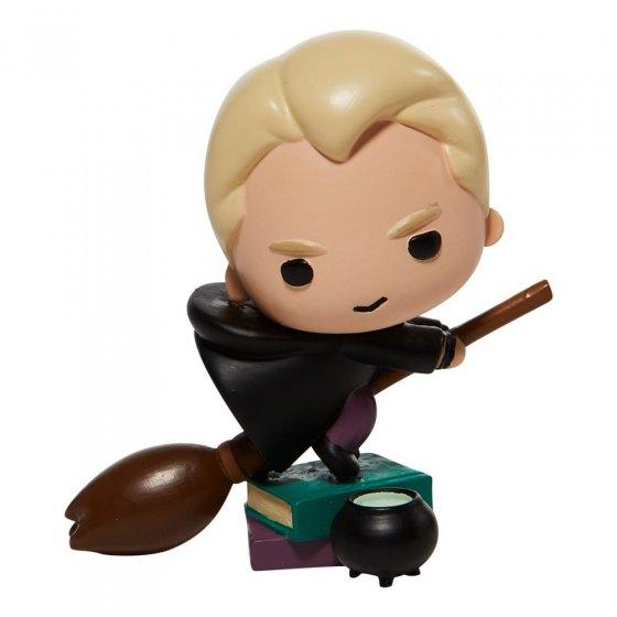 Draco on a Broom Charm Figurine