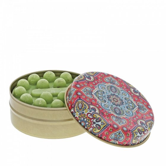 FS Red and Blue Kaleidoscope with Olive Soap