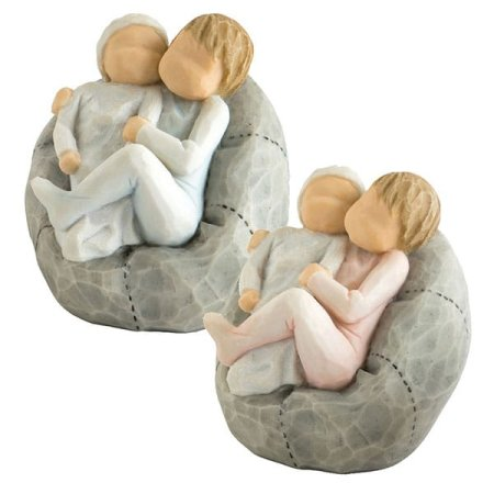 Willow Tree® adds to the family picture with new  sibling sculptures