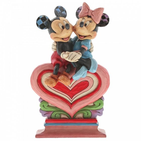 Heart to Heart (Mickey Mouse and Minnie Mouse Figurine)