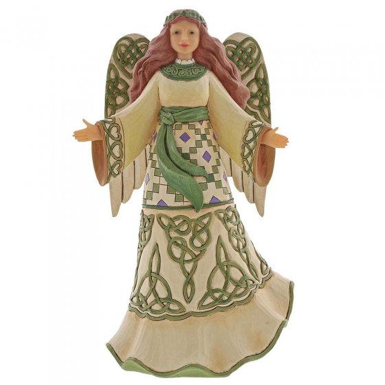Miracles From Moors To Mountains (Irish Angel Figurine)