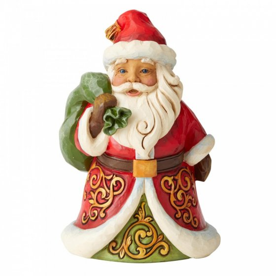 Be True and Believe (Santa with Bag Over Shoulder Pint-sized