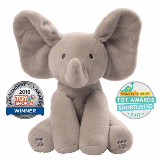 GUND Baby Flappy the Animated Elephant
