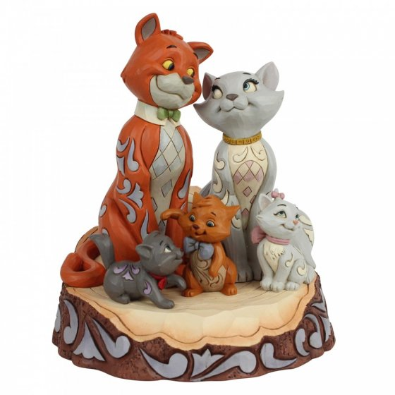 Pride and Joy (Carved by Heart Aristocats Figurine)