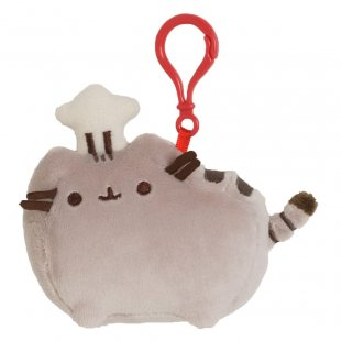Pusheen with Chef Hat Backpack Clip (pack 6)