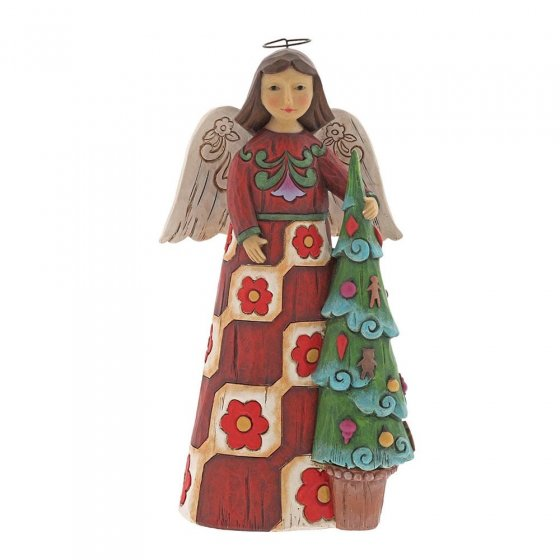 Folklore Angel with Tree