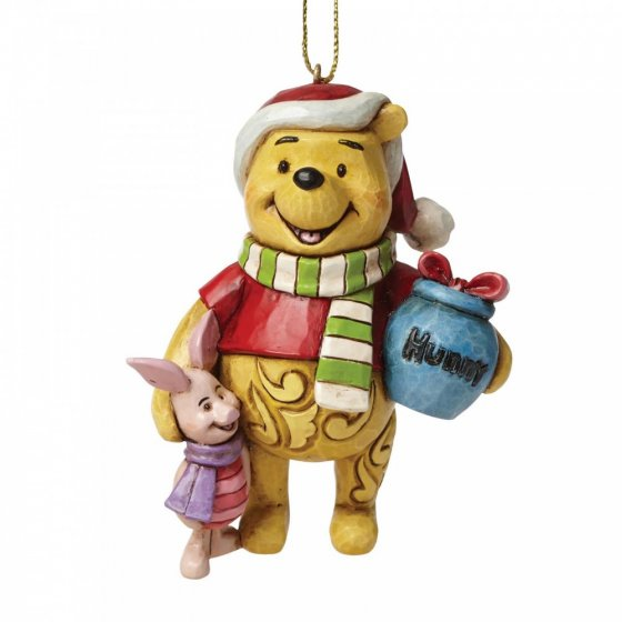 Winnie the Pooh and Piglet Hanging Ornament