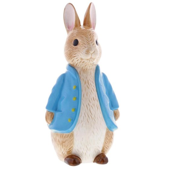 Peter Rabbit Sculpted Money Bank