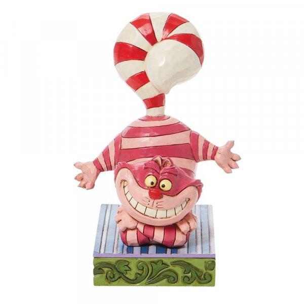 Christmas Cheshire Cat Figurine