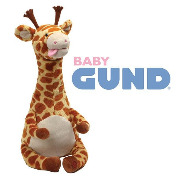 Jungle fever at GUND® as gift company launches new plush ranges you might expect to see in the Savannah