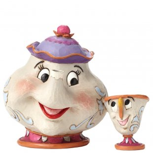 A Mother's Love (Mrs Potts & Chip Figurine)