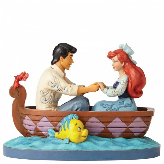Waiting For A Kiss (Ariel and Prince Eric Figurine)