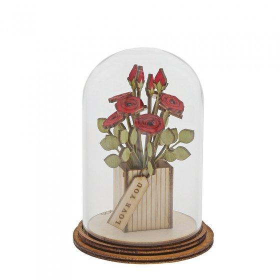 Love You Flower Figurine