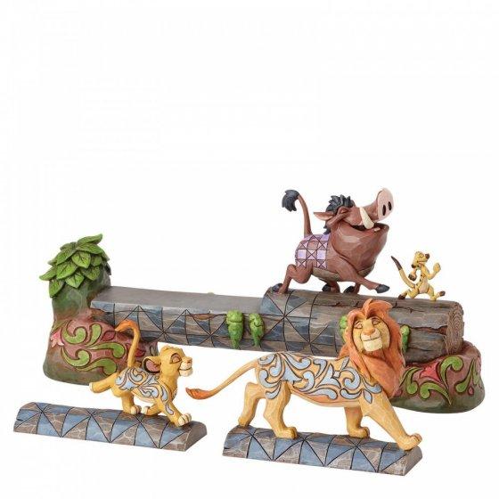 Carefree Camaraderie (Simba, Timon and Pumbaa Figurine)