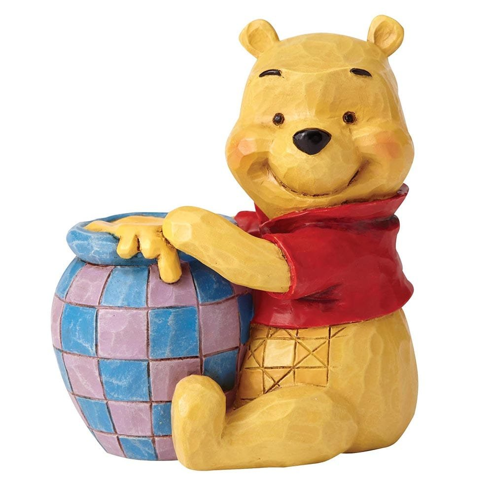 Winnie The Pooh With Honey Pot Mini Figurine Enesco
