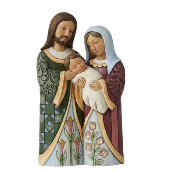 Blessed With A Savior (Holy Family Pint-Sized Figurine)
