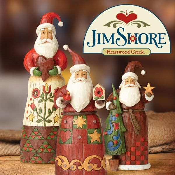 Celebrate Christmas with Folklore by Jim Shore:  New festive season collection