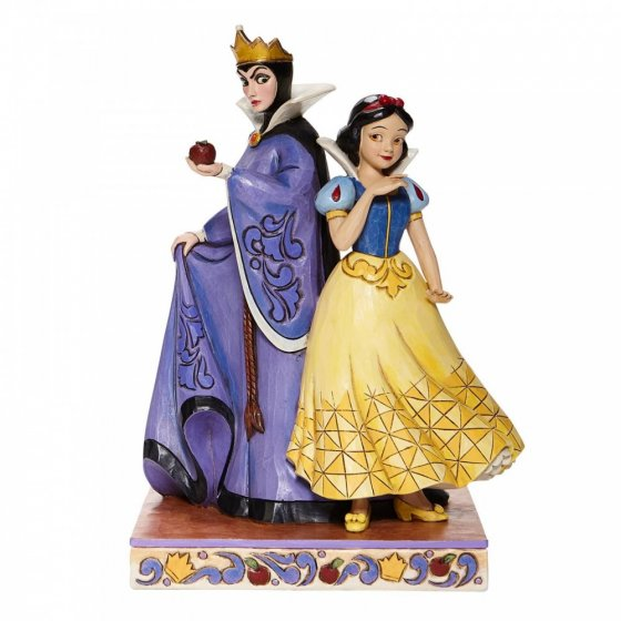 Evil and Innocence - Snow White and Evil Queen Figurine