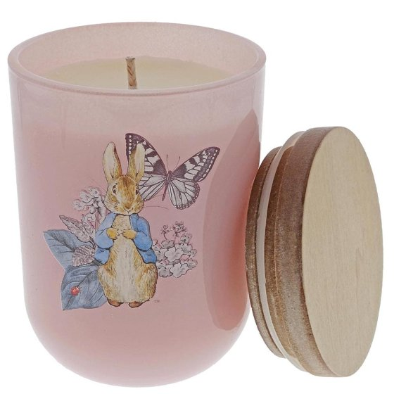 Peter Rabbit Garden Party Candle (Pink)