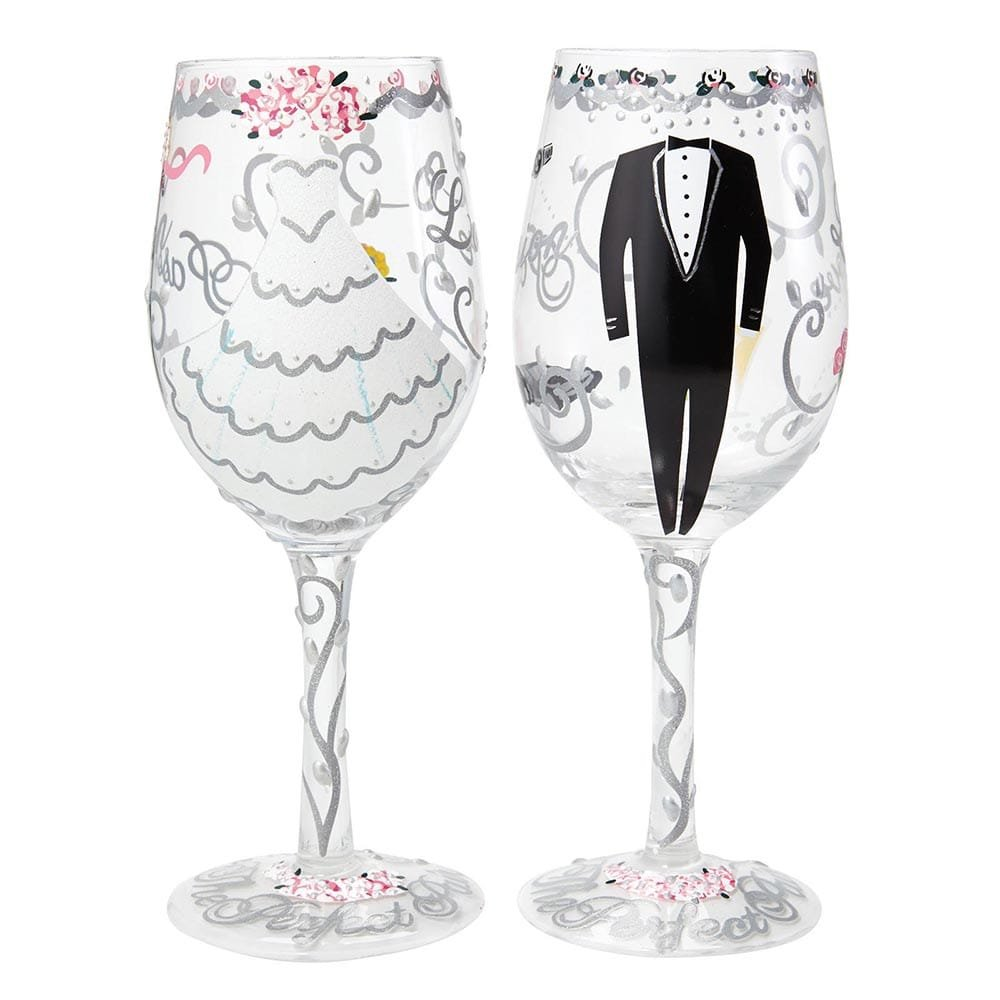 Bride Wine Glass Hallmark