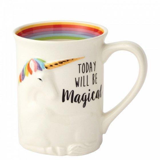 Magical Sculpted Unicorn Mug