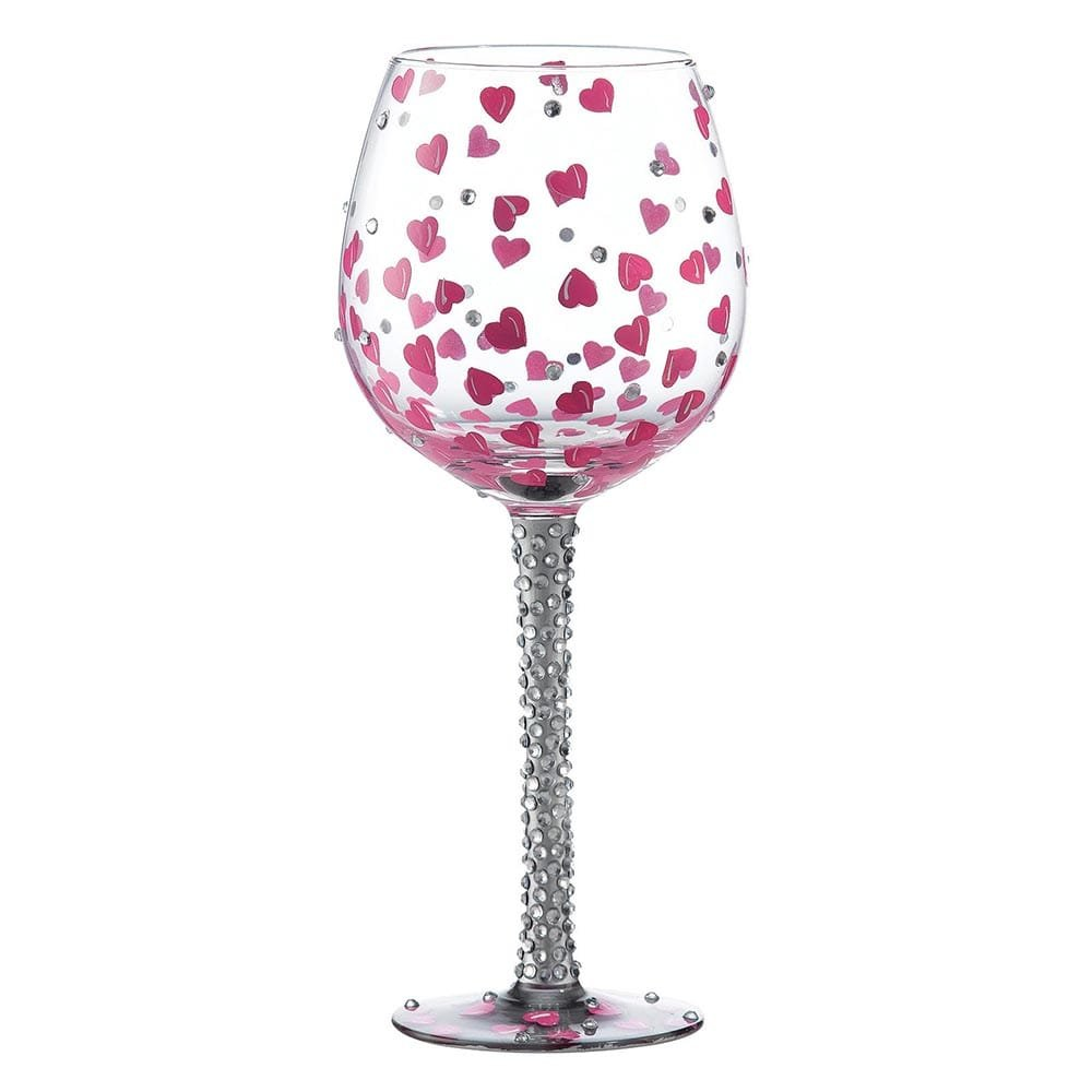 Superbling Pretty Girl Extra Large Wine Glass Enesco